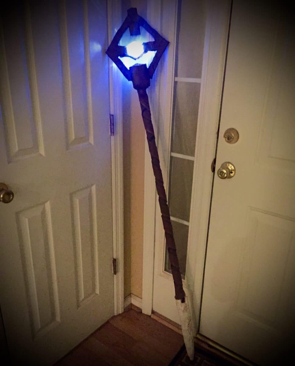 How To Make A Wizard Staff