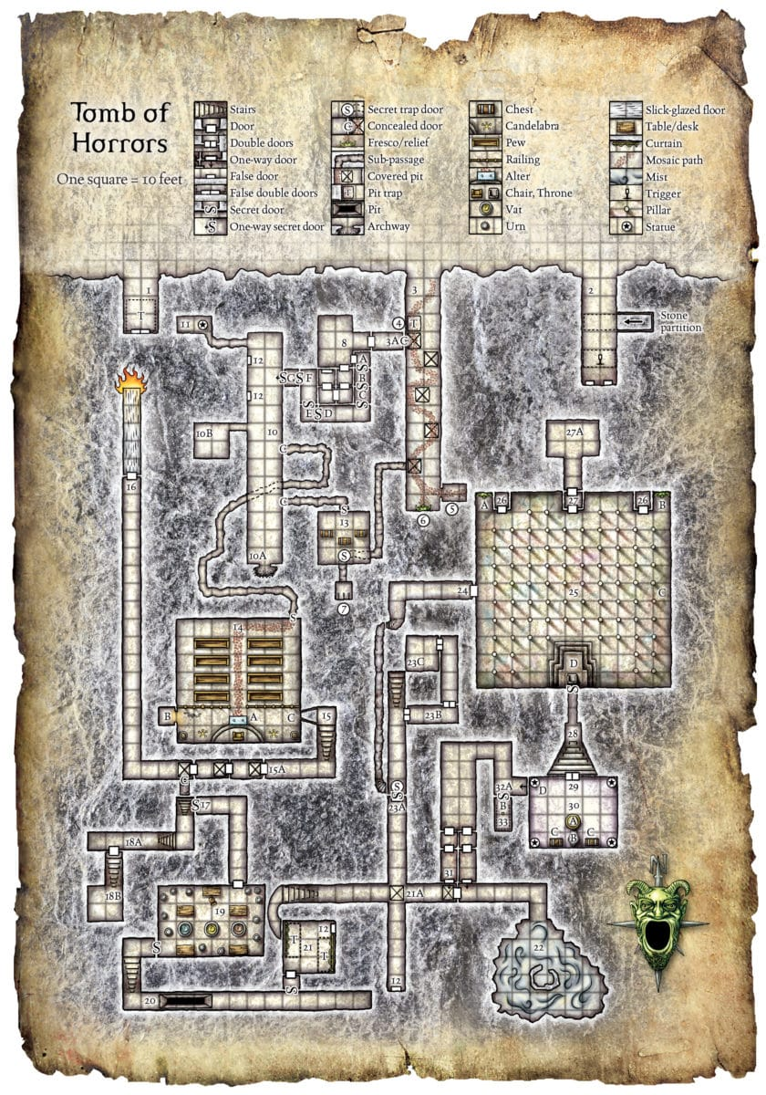 5 Reasons Not to do a Tomb of Horrors 5e Conversion