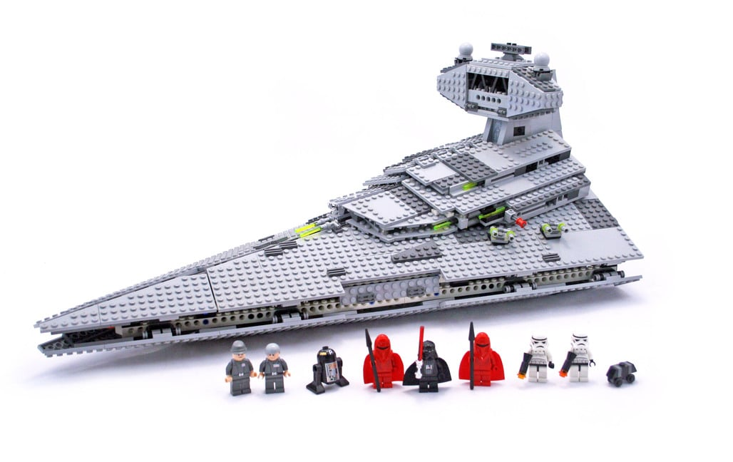 Legos from a Thrift Shop: Imperial Star Destroyer Lego Set ...