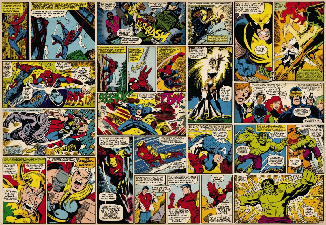 Weekly Nerd Chat Favorite Comic Book Panels on Bedroom Feature Wall Ideas
