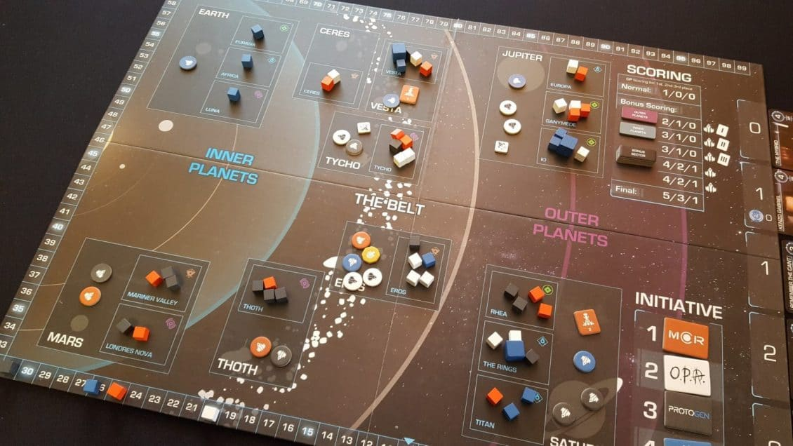 Review Of The Expanse Board Game