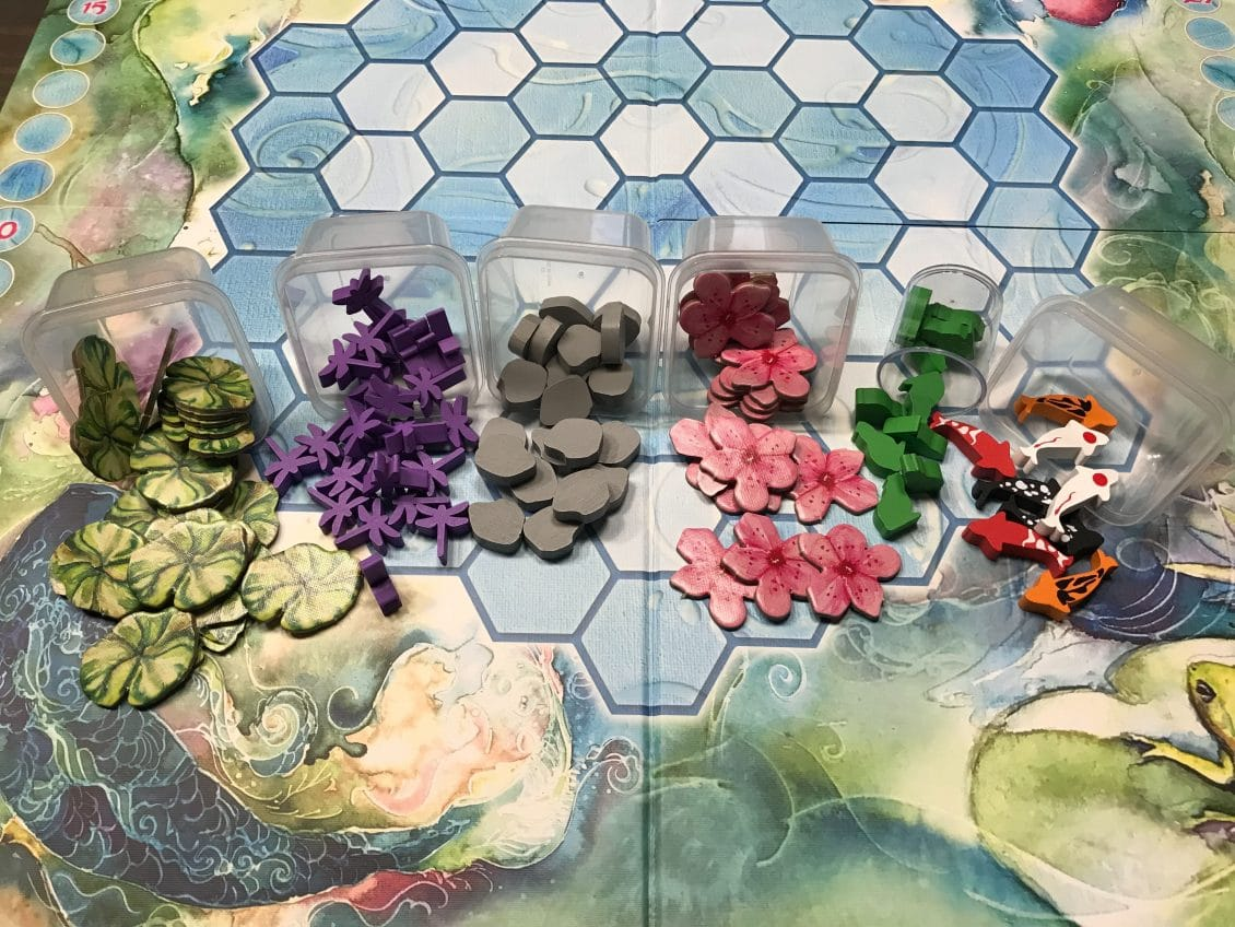 Enjoy a Dragonfly Snack with the Koi Board Game