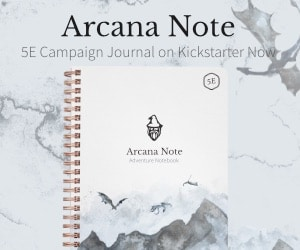 Arcane Note 2 Post Ad #1