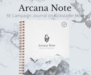 Arcane Note 2 Post Ad #1